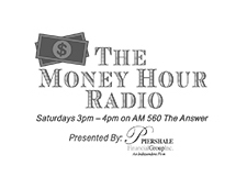 The Money Hour Radio Show Logo